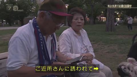 NHKドキュメント72 ポケモンGO 錦糸公園 (2596)