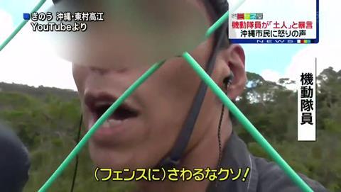 沖縄ヘリパッド問題 機動隊員が「土人」と暴言