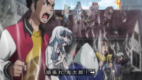 『ゲゲゲの鬼太郎』アニメ6期 最終回 雪女と「暑苦しい男」