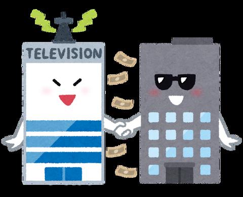 テレビメディアイラスト