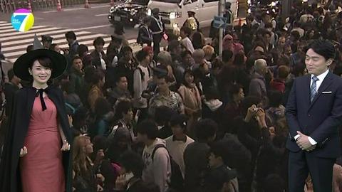 NHKニュース7 ハロウィン 橋本奈穂子アナが魔女コスプレ