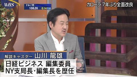 ワールドビジネスサテライト 山川龍雄