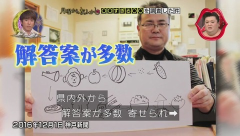 「難解すぎる絵しりとり」神戸新聞でとりあげられる