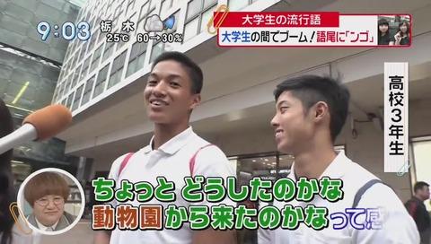 日テレ「スッキリ!!」で語尾「ンゴ」紹介