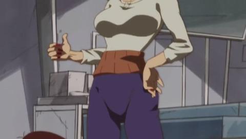アニメ「深夜!天才バカボン」バカボンのパパ 女体化でバカボンのママに