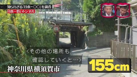 「日本一低いトンネル」 神奈川県 横須賀市