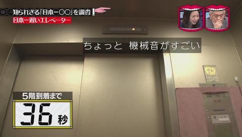「日本一遅いエレベーター」
