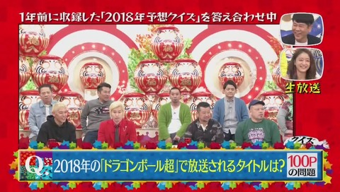 『クイズ☆正解は一年後 2018』次回予告シリーズ ドラゴンボール