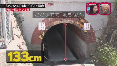 「日本一低いトンネル」 兵庫県 西宮市 甲子園