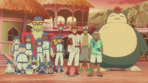 アニメ『ポケットモンスター サン&ムーン』野球