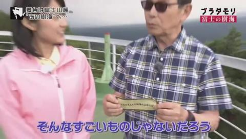 ブラタモリ 富士の樹海(青木ヶ原樹海 )(162)