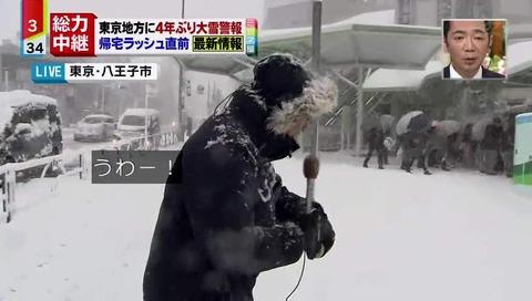 八王子 雪