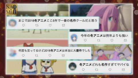 「2018年の冬アニメが面白い」