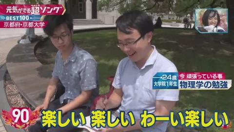 『ミュージックステーション』ウルトラFES 「けものフレンズ」京都大学院生