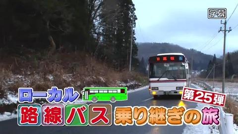 ローカル路線バス乗り継ぎの旅 最終回(第25回)