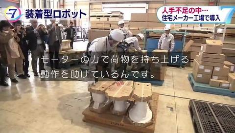 サイバーダインが開発した装着型ロボット