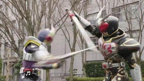 仮面ライダーブレイド vs 仮面ライダーカリス