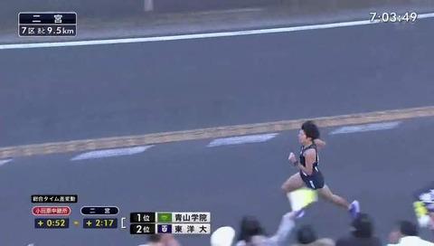 箱根駅伝 二宮