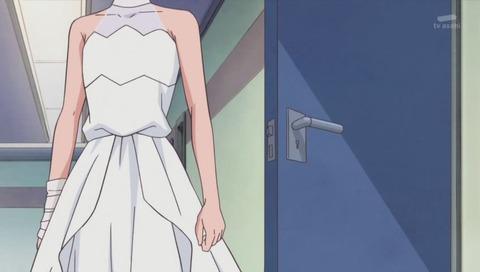 アニメ「HUGっと!プリキュア」アンリ 女装のドレス姿で登場