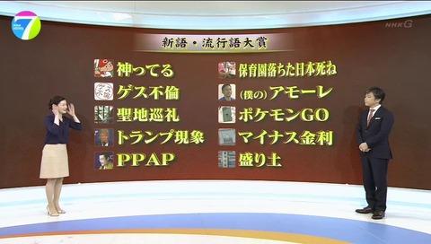 新語・流行語大賞 2016 武田真一 松村正代