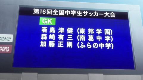 『キャプテン翼』優秀選手 森崎