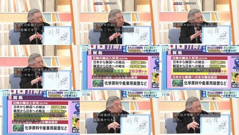 ワイドスクランブル 黒鉄ヒロシ 「韓国のトンチンカンは年季が入っている」