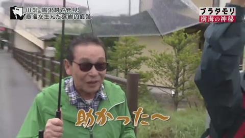 ブラタモリ 富士の樹海 第二回 テンションが高いタモリ