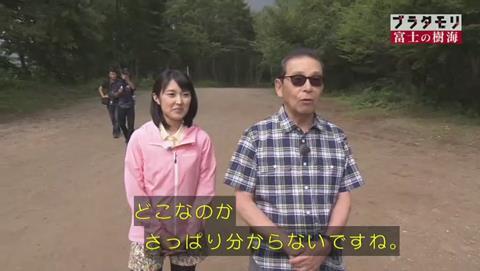 ブラタモリ 富士山 青木ヶ原樹海 (19)