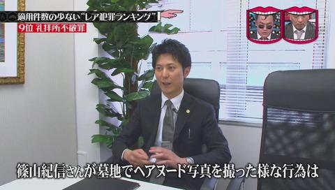 篠山紀信逮捕
