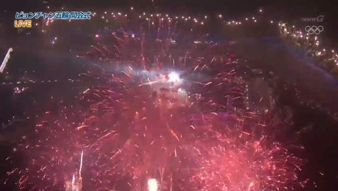 平昌オリンピック 開会式 NHK