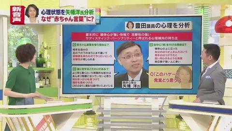ミヤネ屋 矢幡洋先生