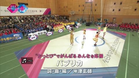 「全日本なわとびかっとび王選手権2019」米津玄師のパプリカ