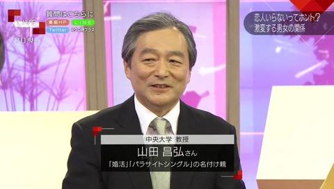 パラサイトシングル 婚活 名付け親 山田昌弘
