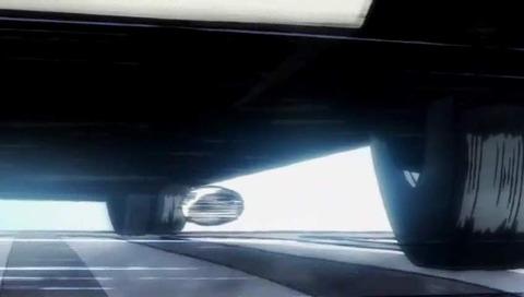 キャプテン翼 トラック下にボールのシーン