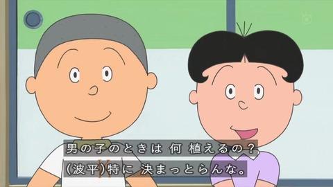 サザエさん「プレゼントの育て方」堀川君をホームセンターでみかけたマスオ