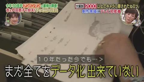 アンパンマン キャラクター管理