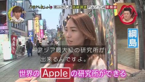 綱島 アップル社