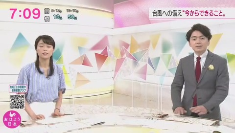 おはよう日本 スタジオ 背後スタッフ