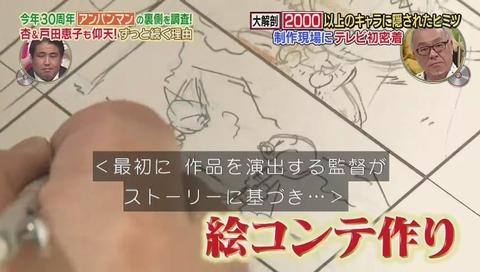 アンパンマン 絵コンテ