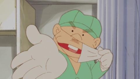 アニメ「深夜!天才バカボン」ブラックジャック先生