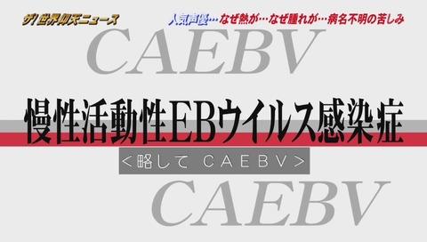 慢性活動性EBウイルス感染症 CAEBV