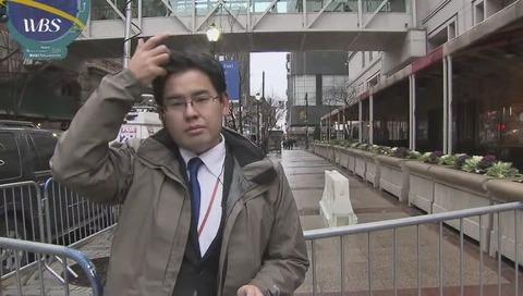 テレビ東京 内田広大 記者