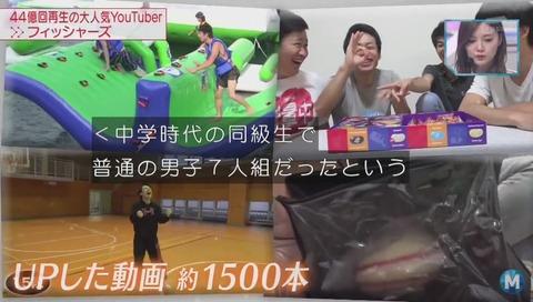 Fischer's(フィッシャーズ) 動画1500本 再生回数44億