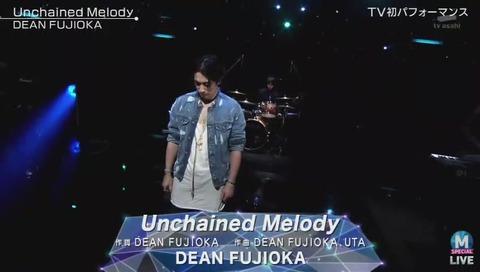 「ミュージックステーション」ディーンフジオカ 「Unchained Melody」