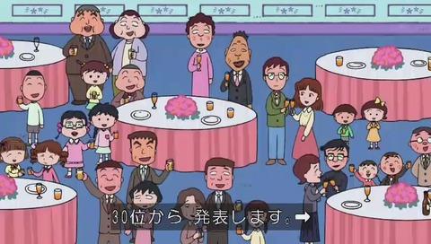 ちびまる子ちゃん 30周年 アニメ人気投票 キートン山田の声