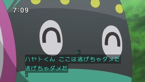 「新幹線変形ロボ シンカリオン」31話「発進!500TYPE EVA」画像 逃げちゃダメだ パロディ