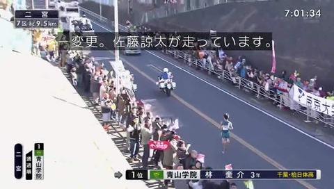 箱根駅伝 2018 フリーザ