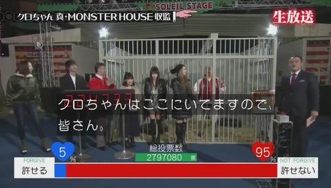 クロちゃん『モンスターハウス』最終回 投票