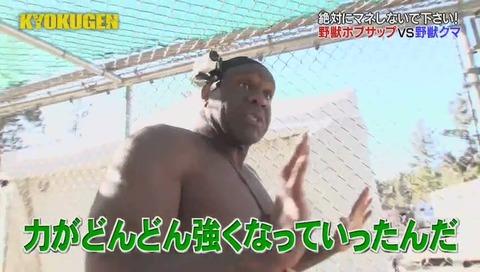 KYOKUGEN ボブ・サップ vs 熊