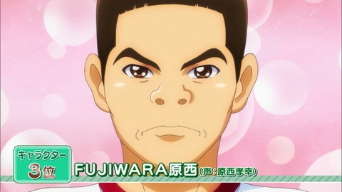 「全プリキュア大投票」キャラクター部門3位 FUJIWARA原西